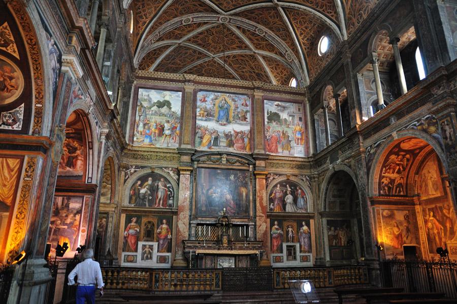 El encuentro con el arte es cuestión de atreverse a mirar: Iglesia de San Maurizio,Milán